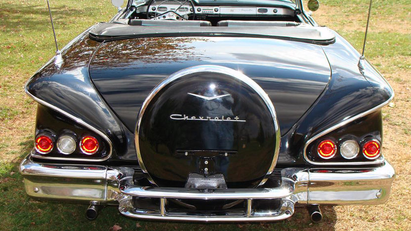 1958 Chevrolet Impala Convertible 348 CI, Automatic presented as lot S105 at Kansas City, MO 2011 - image3