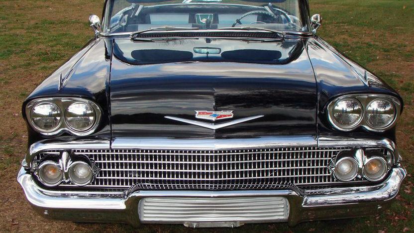 1958 Chevrolet Impala Convertible 348 CI, Automatic presented as lot S105 at Kansas City, MO 2011 - image5
