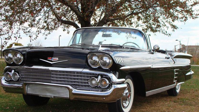 1958 Chevrolet Impala Convertible 348 CI, Automatic presented as lot S105 at Kansas City, MO 2011 - image6