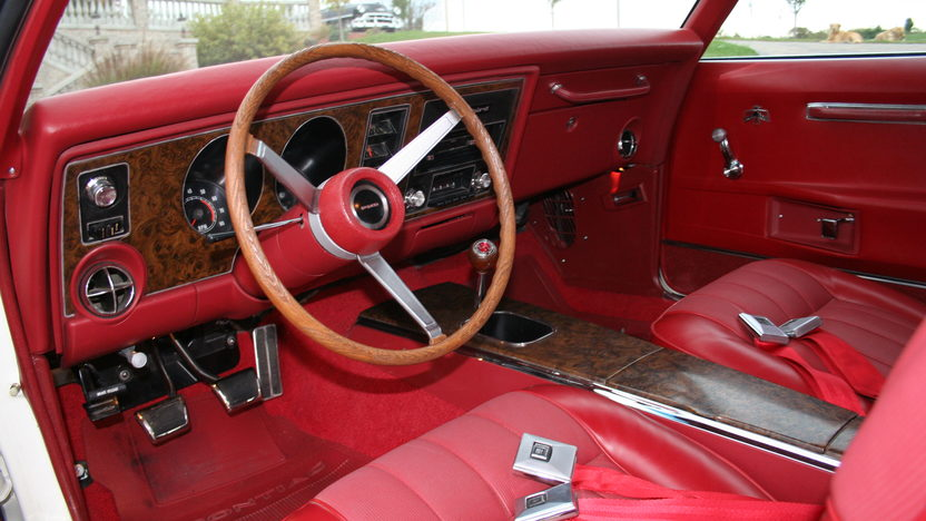 1969 Pontiac Trans Am Ram Air III 1 of 1 with Red Interior presented as lot S106 at Kansas City, MO 2011 - image3