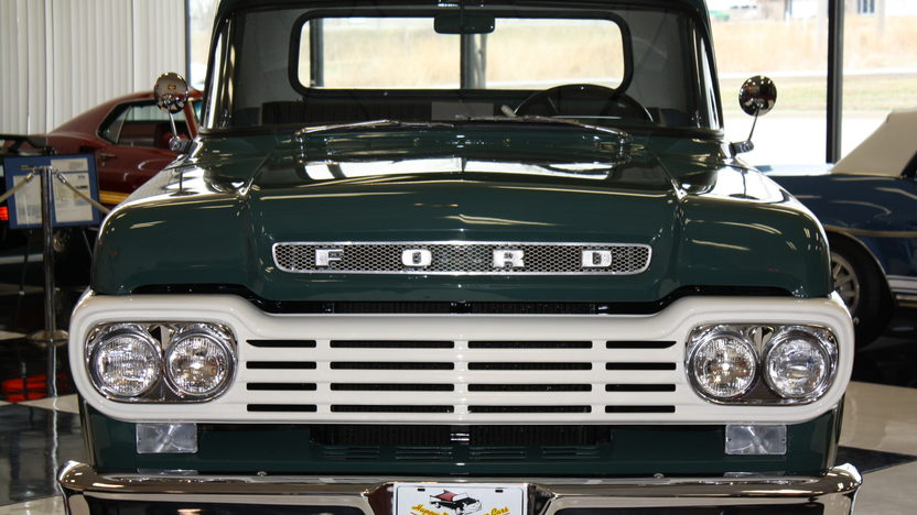 1959 Ford F100 Pickup 292 CI, 3-Speed presented as lot S115 at Kansas City, MO 2011 - image2