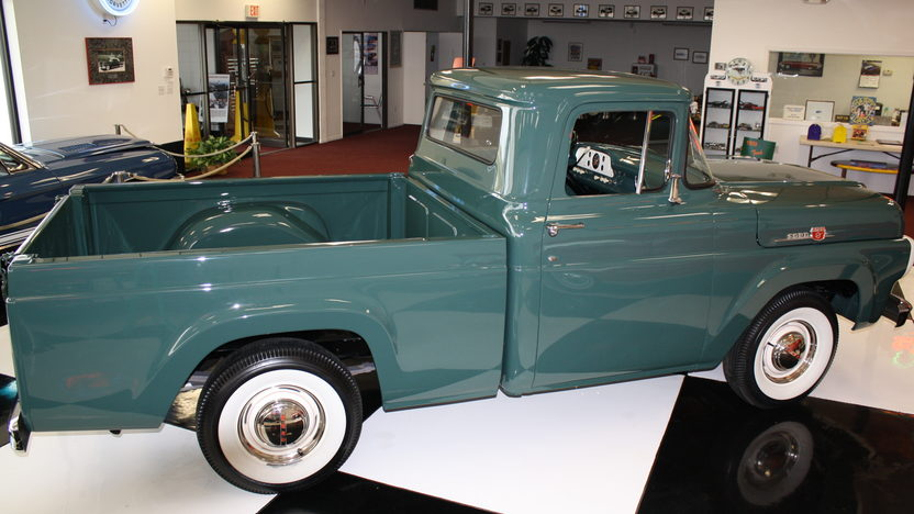 1959 Ford F100 Pickup 292 CI, 3-Speed presented as lot S115 at Kansas City, MO 2011 - image3