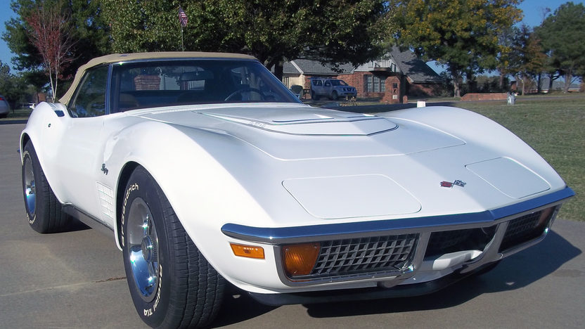 1972 Chevrolet Corvette LT1 Convertible 350/255 HP, 4-Speed presented as lot S119 at Kansas City, MO 2011 - image2