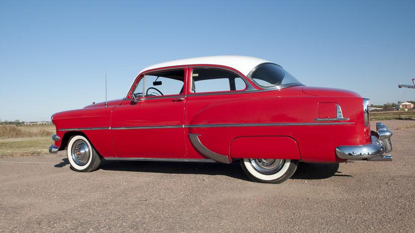 1954 Chevrolet 210 2-Door Sedan Blue Flame Six, 3-Speed presented as lot S137 at Kansas City, MO 2011 - image7