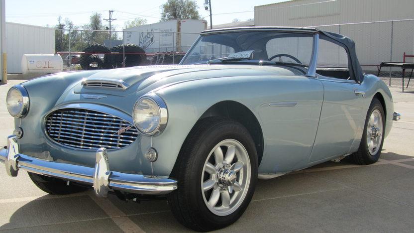 1959 Austin-Healey  Convertible 302/315 HP, 4-Speed presented as lot S144 at Kansas City, MO 2011 - image7