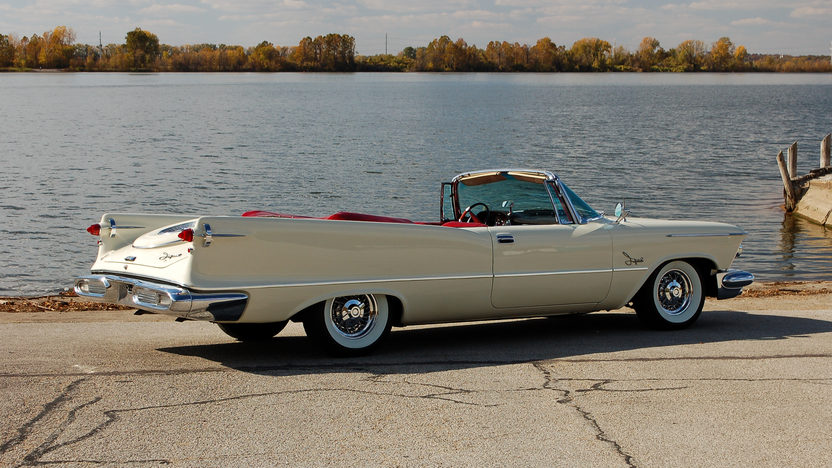 1958 Chrysler Imperial Crown Convertible presented as lot S146 at Kansas City, MO 2011 - image2