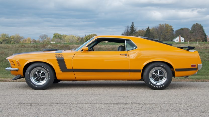 1970 Ford Mustang Boss 302 Fastback 302/290 HP, 4-Speed presented as lot S86 at Kansas City, MO 2011 - image3