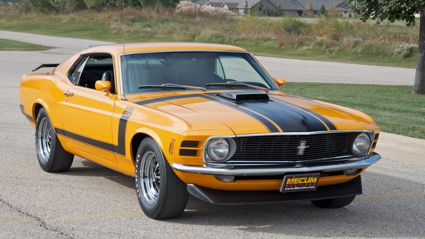 1970 Ford Mustang Boss 302 Fastback 302/290 HP, 4-Speed presented as lot S86 at Kansas City, MO 2011 - image4