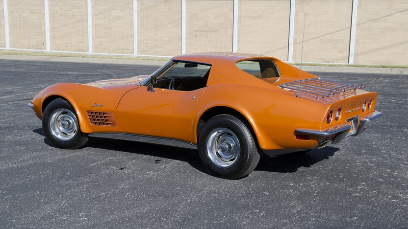 1971 Chevrolet Corvette Coupe 350/270 HP, Automatic presented as lot F83.1 at Kansas City, MO 2011 - image7