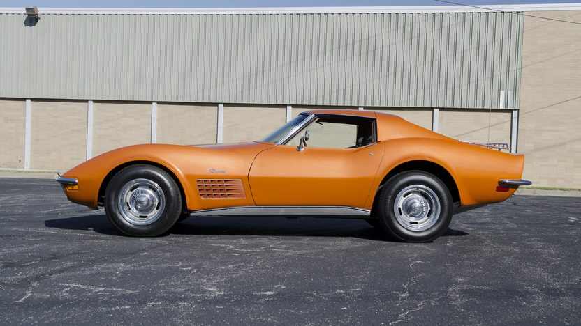 1971 Chevrolet Corvette Coupe 350/270 HP, Automatic presented as lot F83.1 at Kansas City, MO 2011 - image8