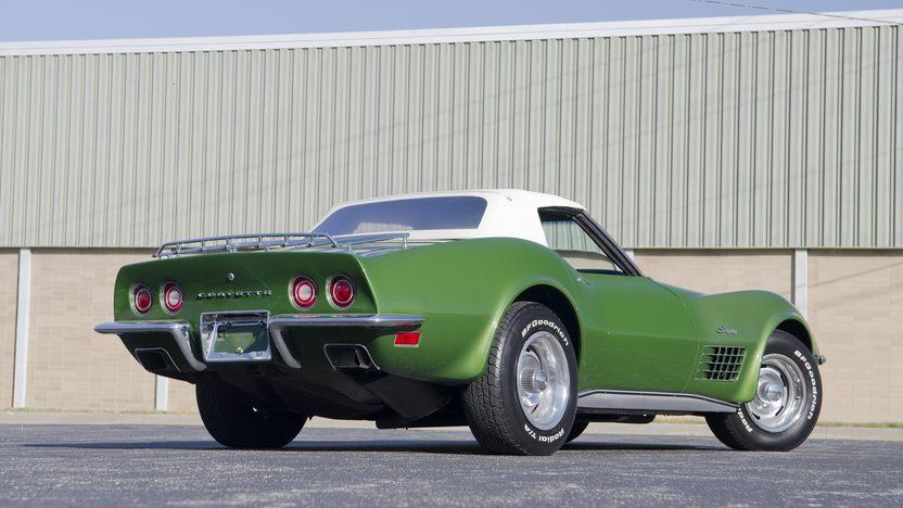 1972 Chevrolet Corvette Convertible 350 CI, Automatic presented as lot F84.1 at Kansas City, MO 2011 - image7