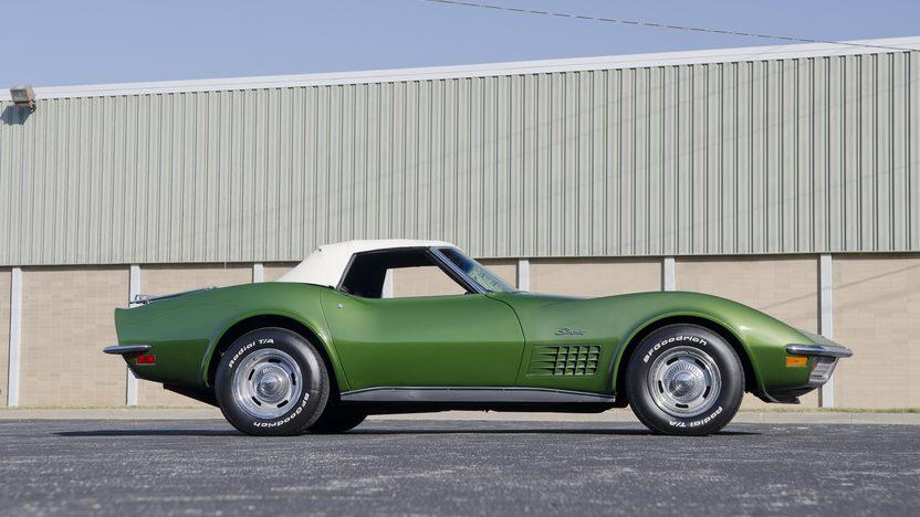 1972 Chevrolet Corvette Convertible 350 CI, Automatic presented as lot F84.1 at Kansas City, MO 2011 - image8