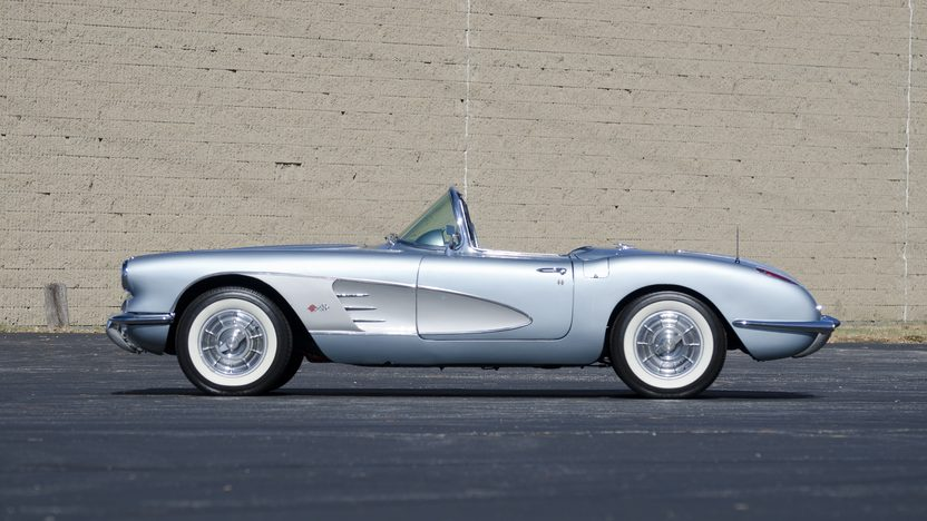 1958 Chevrolet Corvette 283/245 HP, 3-Speed presented as lot S80.1 at Kansas City, MO 2011 - image2