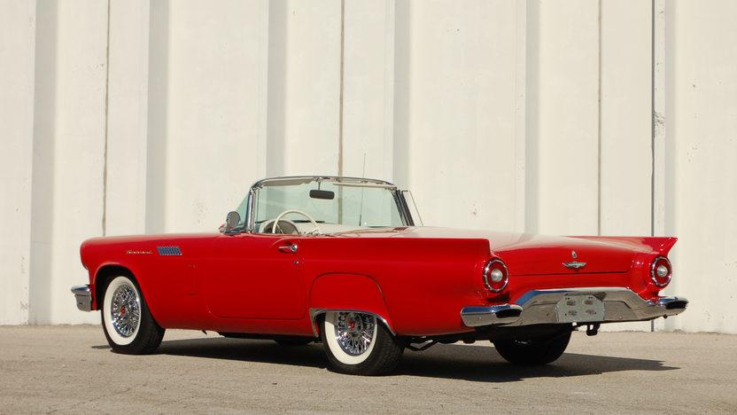 1957 Ford Thunderbird E Code 312/270 HP, Automatic presented as lot S120.1 at Kansas City, MO 2011 - image2