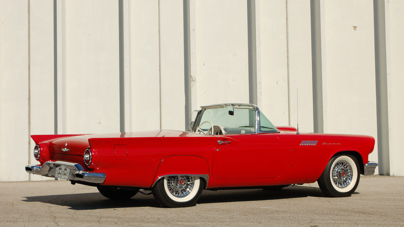 1957 Ford Thunderbird E Code 312/270 HP, Automatic presented as lot S120.1 at Kansas City, MO 2011 - image7