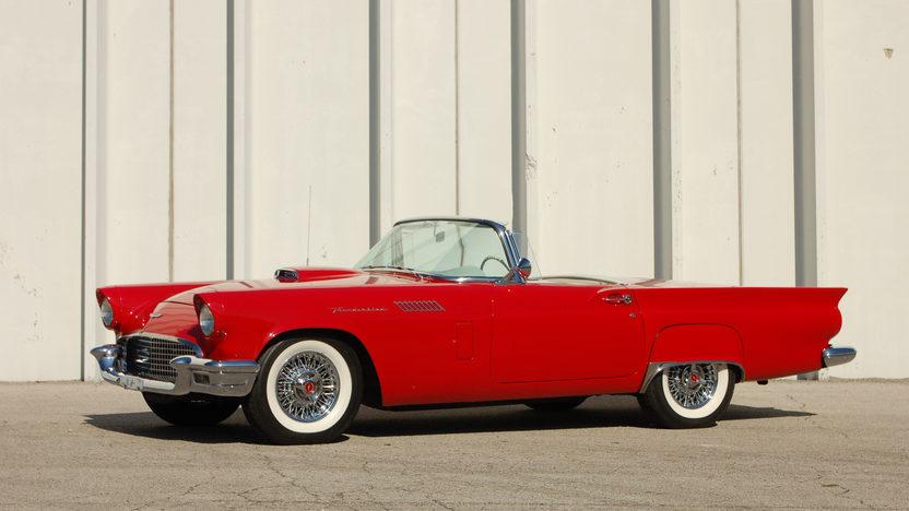 1957 Ford Thunderbird E Code 312/270 HP, Automatic presented as lot S120.1 at Kansas City, MO 2011 - image8