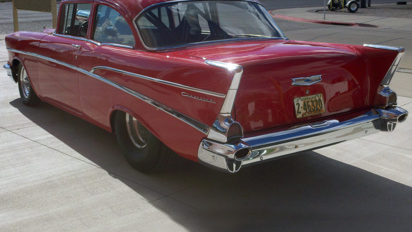 1957 Chevrolet 210 2-Door 468 CI, Automatic presented as lot S42 at Kansas City, MO 2011 - image4