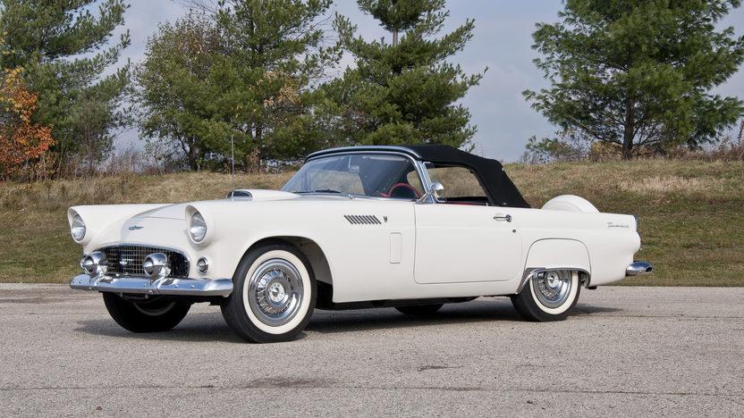 1956 Ford Thunderbird 312 CI, Automatic presented as lot S69.1 at Kansas City, MO 2011 - image2