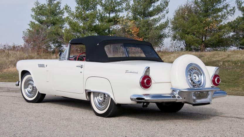 1956 Ford Thunderbird 312 CI, Automatic presented as lot S69.1 at Kansas City, MO 2011 - image4