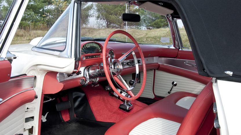1956 Ford Thunderbird 312 CI, Automatic presented as lot S69.1 at Kansas City, MO 2011 - image5