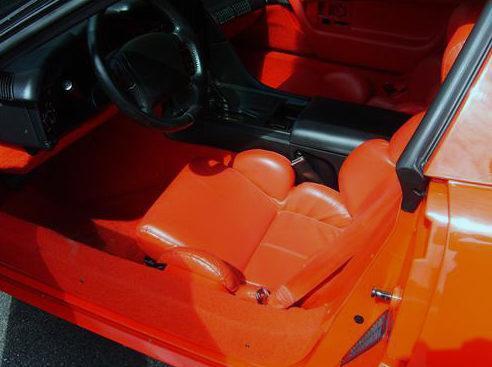 1993 Chevrolet Corvette 350 CI, Automatic presented as lot F127.1 at Kansas City, MO 2011 - image3