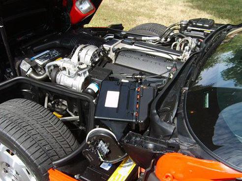 1993 Chevrolet Corvette 350 CI, Automatic presented as lot F127.1 at Kansas City, MO 2011 - image5