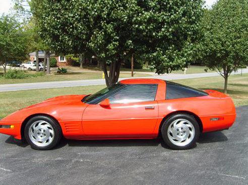 1993 Chevrolet Corvette 350 CI, Automatic presented as lot F127.1 at Kansas City, MO 2011 - image6