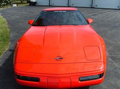 1993 Chevrolet Corvette 350 CI, Automatic presented as lot F127.1 at Kansas City, MO 2011 - image8