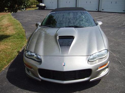 2002 Chevrolet Camaro Z28 Convertible LT1, Automatic presented as lot F138.1 at Kansas City, MO 2011 - image8