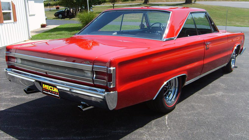 1967 Plymouth GTX 440 CI, Automatic presented as lot S93 at Kansas City, MO 2011 - image3