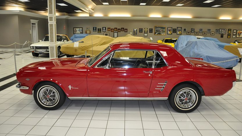 1966 Ford Mustang 289 CI, Automatic presented as lot S24.1 at Kansas City, MO 2011 - image3