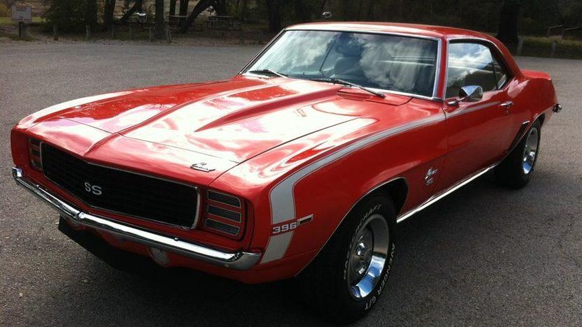 1969 Chevrolet Camaro SS Coupe presented as lot S31.1 at Kansas City, MO 2011 - image3