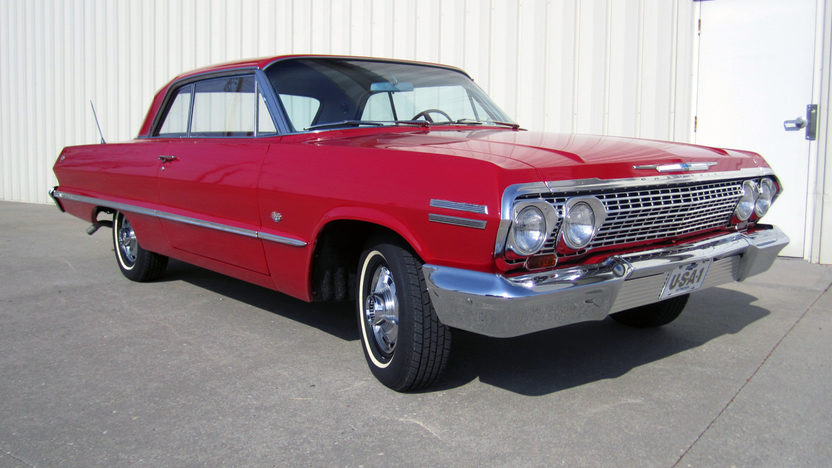 1963 Chevrolet Impala SS 2-Door Hardtop 327/300 HP, 4-Speed presented as lot F22 at Kansas City, MO 2011 - image6