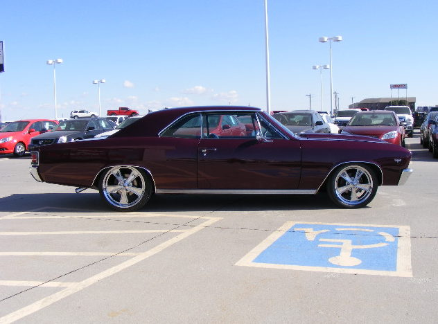 1967 Chevrolet Chevelle Coupe 350 CI, Automatic presented as lot S50.1 at Kansas City, MO 2011 - image8