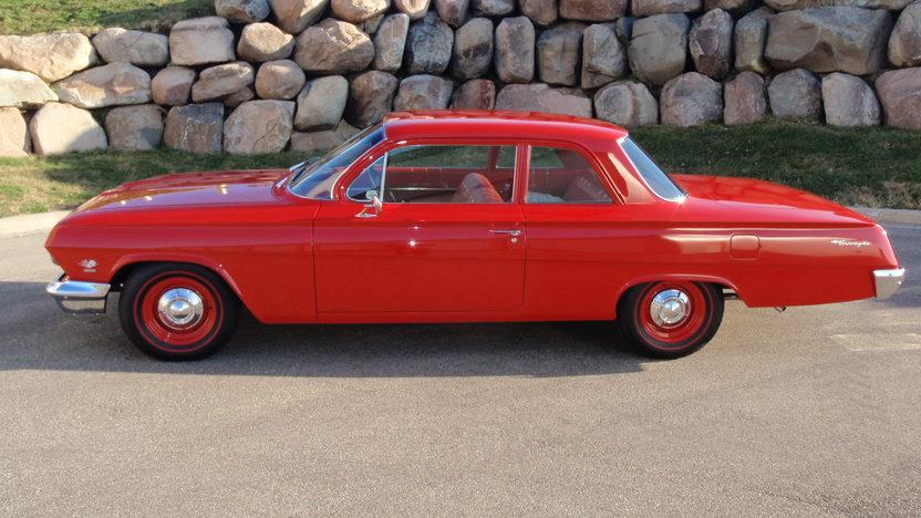 1962 Chevrolet Biscayne 2-Door Sedan 409/409 HP, 4-Speed presented as lot S62.1 at Kansas City, MO 2011 - image2