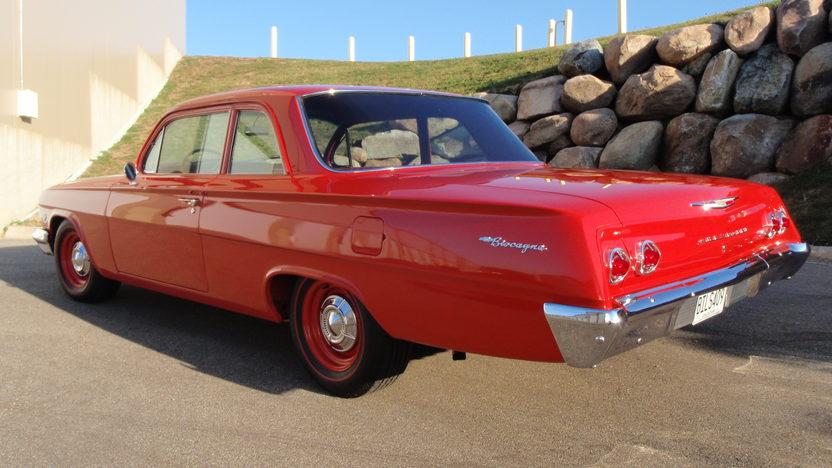 1962 Chevrolet Biscayne 2-Door Sedan 409/409 HP, 4-Speed presented as lot S62.1 at Kansas City, MO 2011 - image3