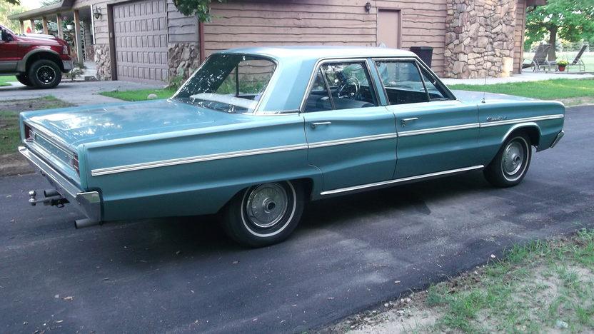 1966 Dodge Coronet 4-Door Sedan 528/600 HP, Automatic presented as lot T42 at Kansas City, MO 2011 - image2