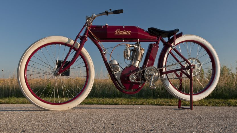 1913 Indian Board Track Racer presented as lot T178.1 at Kansas City, MO 2011 - image2