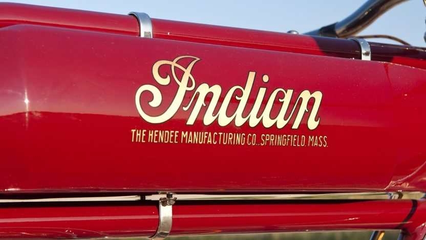 1913 Indian Board Track Racer presented as lot T178.1 at Kansas City, MO 2011 - image6