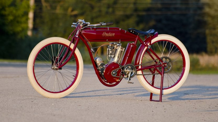 1913 Indian Board Track Racer presented as lot T178.1 at Kansas City, MO 2011 - image7