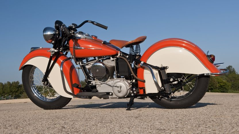 1942 Indian Sport Scout 45 CI  presented as lot T166.1 at Kansas City, MO 2011 - image9
