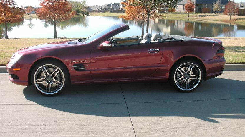 2003 Mercedes-Benz Sl55 Amg Convertible presented as lot S178 at Kansas City, MO 2011 - image2