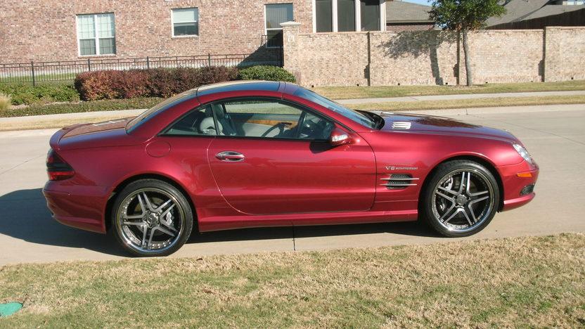 2003 Mercedes-Benz Sl55 Amg Convertible presented as lot S178 at Kansas City, MO 2011 - image4