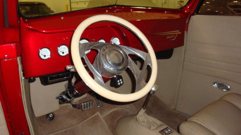1937 Ford  Custom Convertible 454 CI, Automatic presented as lot T141.1 at Kansas City, MO 2011 - image4