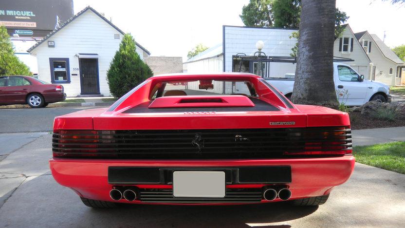 1990 Ferrari Testarossa 4.9L, 5-Speed presented as lot S171.1 at Kansas City, MO 2011 - image3