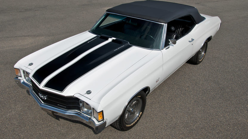 1972 Chevrolet Chevelle SS Convertible 454 CI, 4-Speed presented as lot S175.1 at Kansas City, MO 2011 - image2