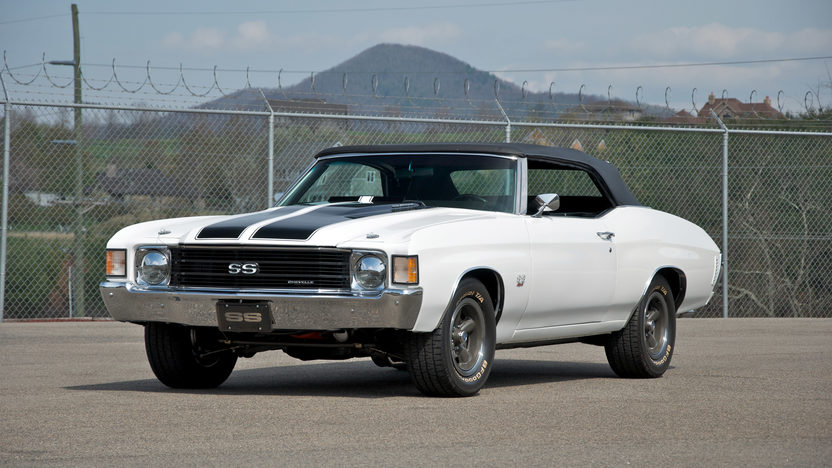 1972 Chevrolet Chevelle SS Convertible 454 CI, 4-Speed presented as lot S175.1 at Kansas City, MO 2011 - image8