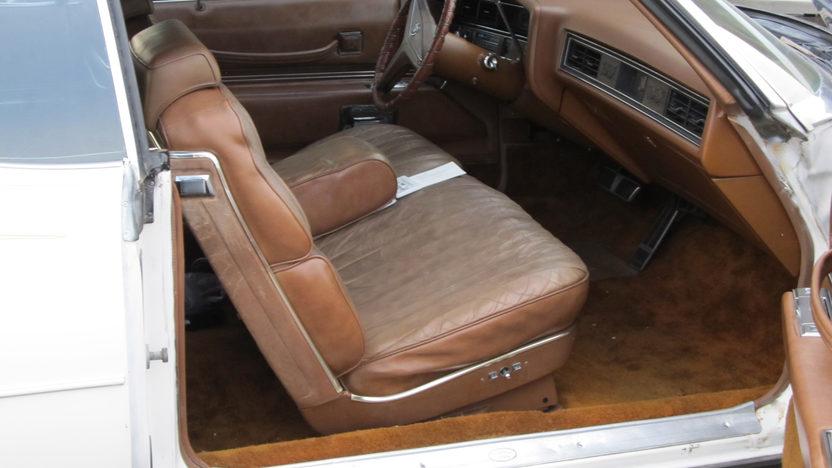 1973 Cadillac Eldorado Convertible presented as lot T73 at Kansas City, MO 2012 - image2
