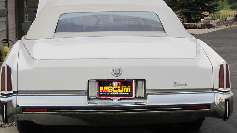 1973 Cadillac Eldorado Convertible presented as lot T73 at Kansas City, MO 2012 - image4
