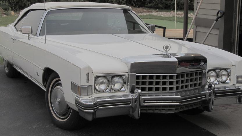 1973 Cadillac Eldorado Convertible presented as lot T73 at Kansas City, MO 2012 - image5